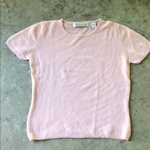 Valerie Stevens Two Ply Cashmere Sweater - Small